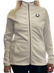 Indianapolis Colts Women's Antigua Full-Zip Golf Jacket White Size M