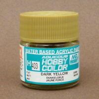 Gunze Mr. Hobby Aqueous Color Paint H403 Dark Yellow (10ml) For Model Kit
