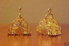 1:9 Traditional / Small Trad. Model Horse Scale FILIGREE ARABIAN STIRRUPS - Gold