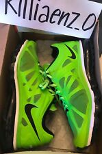 Nike Air Max+ 2012 shoes 9 RARE Electric Green / Black/White 487982-301