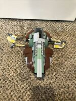 Lego Star Wars Boba Fett Ship Slave 1 6209 90% Near Complete - Boba Basics*