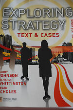 """""""Exploring strategy"""" - Text and cases - 9 edition - 2011"""