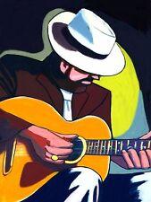 LONG JOHN BALDRY PRINT poster guitar it ain't easy cd everything stops for tea