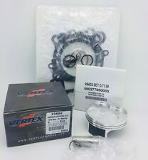 Kawasaki KXF 250 Top End Rebuild Kit Vertex Piston Gaskets 3566C 76.97mm - 2010