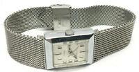 Vintage Timex Electric Silver Tone Wrist Watch