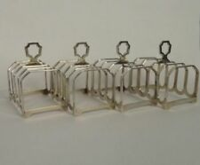 Sheffield 1900-1940 Antique Solid Silver Toast Racks