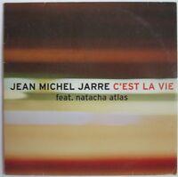 "JEAN-MICHEL JARRE - 2 TRACKS CARDSLEEVE SINGLE CD ""C'EST LA VIE"""