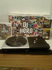 Wii DJ hero  Turntable Kit With DJ Hero Game