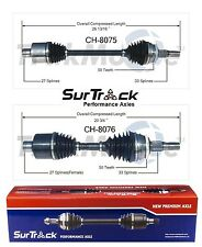 For Chrysler 300M Special FWD 02-04 Pair of Front CV Axle Shafts SurTrack Set