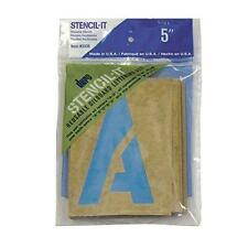 5 Inches Large Alphabet Stencils Letters Numbers Symbols Learning Craft Reusable