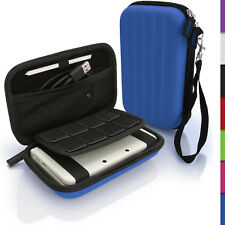 Blue Hard Case Cover for New Nintendo 3DS XL 3DSXL 2DS XL 2DSXL Sleeve Pouch
