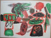 Guillaume CORNEILLE - Lithographie COBRA 1963 Galerie Creuzevault La grenade