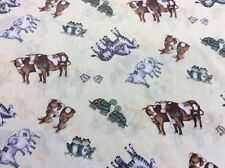 Springs Creative - Steele Creek Studio Noah's Ark - By The 1/4m - 100% Cotton