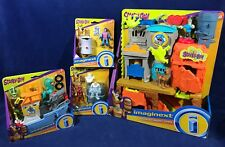 NEW Huge SCOOBY-DOO IMAGINEXT LOT Haunted GHOST TOWN Ocean Boat VELMA Snow ROBOT