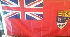 "Classic Canadian Red Boat Ensign, Reproduction 1922 - 1957, 15"" x 30"""