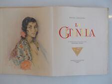 Cervantès, Gitanella, 1948, in-4, 15 gravures couleurs de Chimot, beau livre !