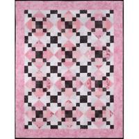 Crosswalk in Paris - cozy quilt design