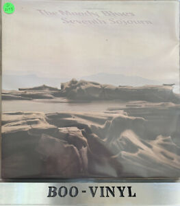 THE MOODY BLUES-SEVENTH SOJOURN-THRESHOLD-THS-7-1972-GATEFOLD  UK ISSUE EX CON