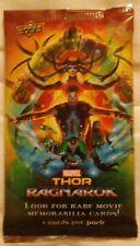 Upper Deck Marvel 'Thor: Ragnanok' Trading/Memorabilia Cards - Pack of 5 *NEW*