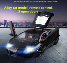 1:24 Lamborghini alloy remote control car model moving racing drift charging toy