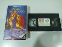 La Dama y el Vagabundo - LOS CLASICOS de Walt Disney - VHS Castellano - 2T