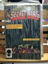 Marvel Comics Super Hero Secret Wars #4 Mys-Tech wars Wolverine Hulk Iron Man
