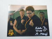 NICHOLE BROWN Signed COBRA KAI 8x10 Photo Nicole AISHA Autograph LEGENDS COA A