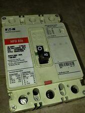 NEW CUTLER HAMMER HFD3040BP10 3 POLE 65K 80 AMP 600V CIRCUIT BREAKER