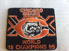 Hottest Deal Ever On This.  Chicago Bears World Champions 1985 Commerative Patch
