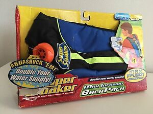 Super Soaker Max Infusion Backpack New in Box