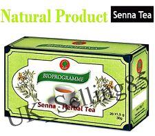 SENNA TEA Bioprogramme - Weight Loss, Colon Cleansing, Laxative, Detox, 20 bags