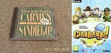 ? dónde en el mundo está Carmen Sandiego Deluxe y National Geographic Nuevo y Sellado