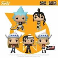 Soul Eater Wave 2 Pop! Vinyl Figures - Tsubaki, Black Star, Death The Kid, Liz