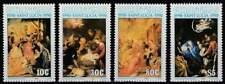 St. Lucia postfris 1990 MNH 982-985 - Kerstmis / Christmas (k104)
