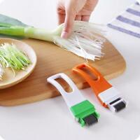 Vegetable Fruit Onion Cutter Slicer Peeler Chopper Shredder Kitchen Gadget Q