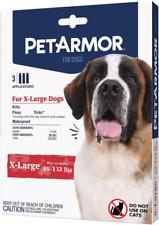 Pet Armor Petarmor Flea & Tick Prevention For Dogs 89-132 Lbs X-Large