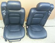 01 02 03-06 CHRYSLER SEBRING CONVERTIBLE DARK BLUE LEATHER SEAT