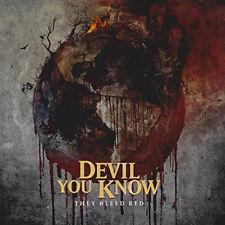 Devil You Know Ils Bleed rouge 2015 14-TRACK ALBUM CD NEUF / scellé