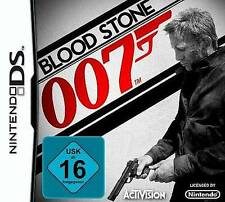 Nintendo DS 3ds James Bond Blood Stone * Bloodstone come nuovo