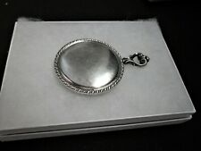 Vintage 1920's Sterling Silver Pocket Hand Mirror - R. Blackinton Co.- 2 1/4""