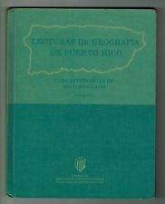 Lecturas Geograficas De Puerto Rico DIP 1973 Estudios Sociales Texto Escolar