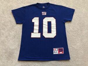New York Giants # 10 Manning T Shirt Men's Sz M Football NFL Sportswear Teams