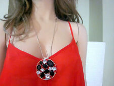 shirt Sofia Vergara top women sleeveless Red size L Spaghetti Strap (#7)