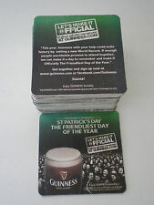 LOT OF GUINNESS BEER COASTERS / 50
