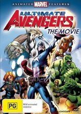 Ultimate Avengers  - The Movie (DVD, 2008) Brand New Not Sealed Region 4