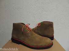 UGG ITALIAN COLLECTION ORAZIO OLIVE SUEDE ANKLE BOOTS, US 10.5/ EUR 44 ~ NEW