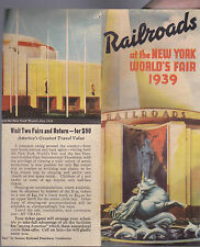 Railroads at the New York World's Fair 1939 Brochure