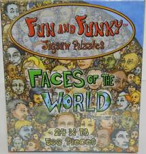 2005 Shaunreed ~ Fun & Funky ~ Faces of The World ~ 500 Pc Puzzle ~ People ~ New