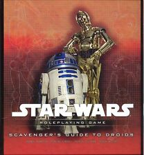 Star Wars Saga Edition Scavenger's Guide to Droids HC