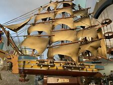 Hand Made Wooden British War Ship